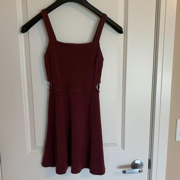 Garage burgundy Mini Dress, XS